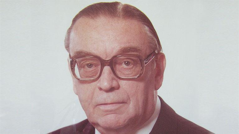 Portrait of Hermann Soldan
