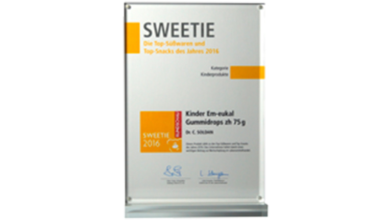 Sweetie 2016 Award