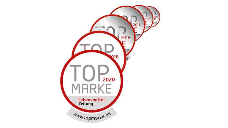 Auszeichnungen Topmarke
