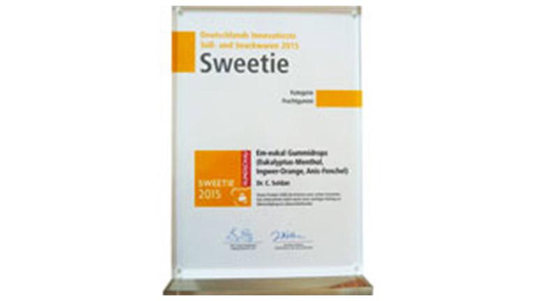 Auszeichnung Sweetie 2015