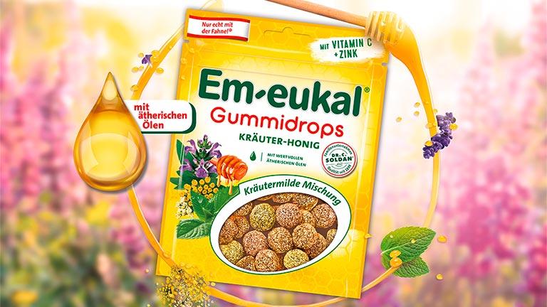 Kräuter-Honig Gummidrops
