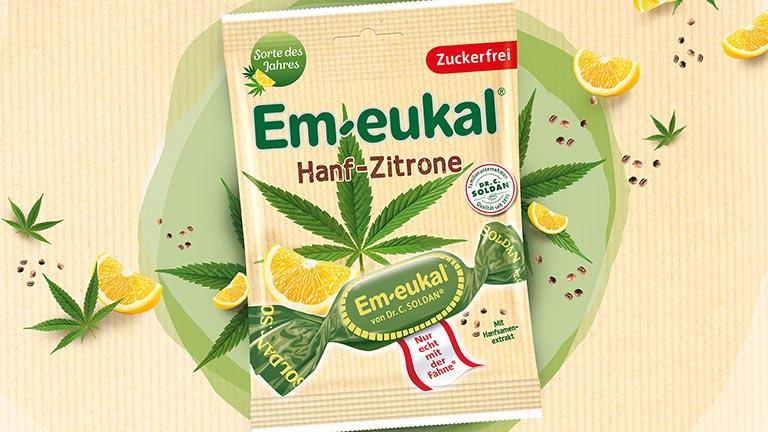 Hanf-Zitrone Em-eukal Beutel