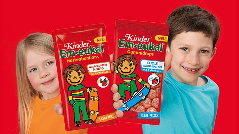 Kinder Em-eukal Walderdbeere Sorte