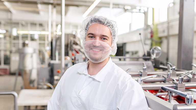 Laborant in der Produktion