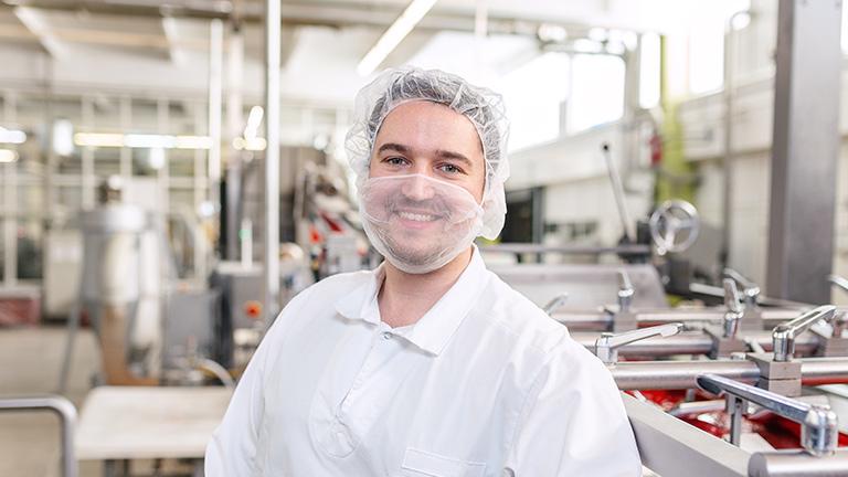 Produktionsleiter Christoph bei SOLDAN