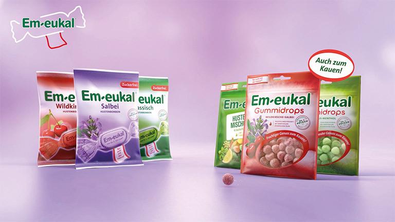 Em-eukal und Gummidrops Beutel
