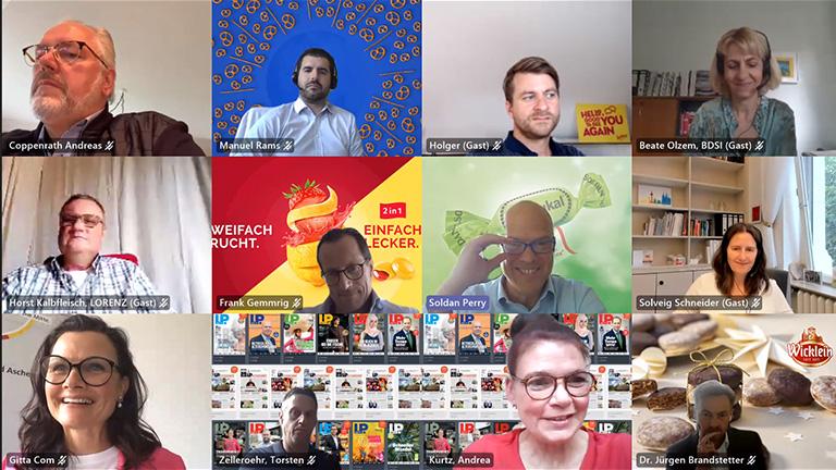 Politiktalk mit Gitta Connemann Lebensmittelpraxis Online Meeting Süßwarenhersteller
