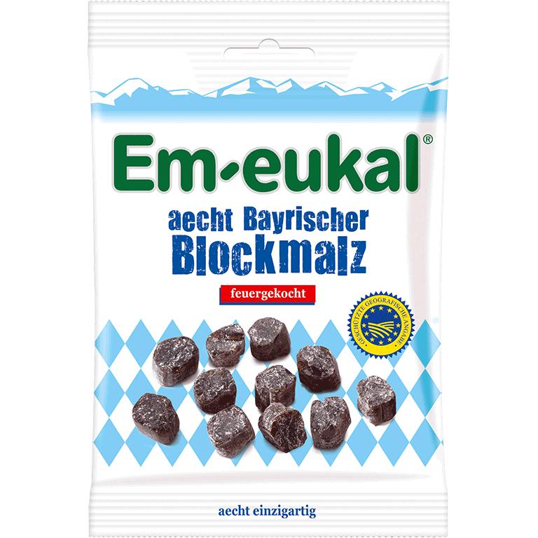 Em-eukal aecht Bayrischer Blockmalz 100 g zuckerfrei
