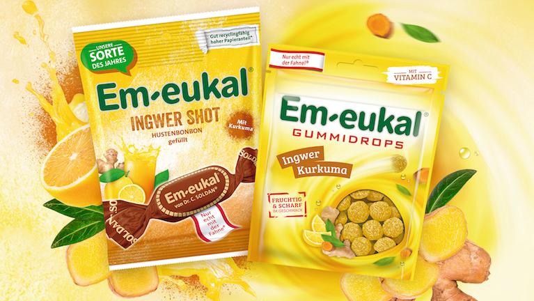 Produktneuheit: Em-eukal Ingwersorten