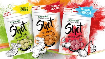 Produktneuheit: Em-eukal Gummidrops Shots