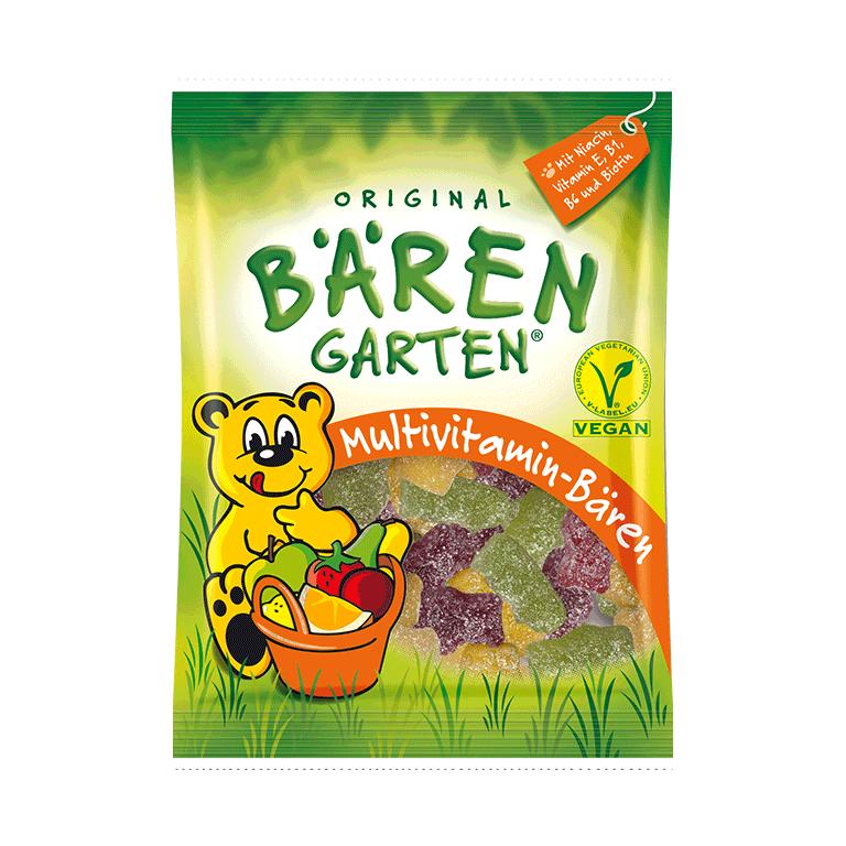Original BÄRENGARTEN vegane Multivitamin-Bären