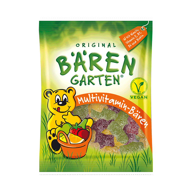 Original BaeRENGARTEN vegane Multivitamin-Baeren